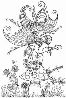 free coloring pages of fairies 16633 on a toadstool by welshpixie deviantart myth mythical mystical legend