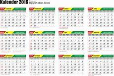 berkreasi kalender 2016 format cdr
