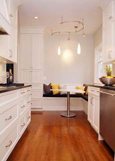 a hundred year old house gets a new galley kitchen the
