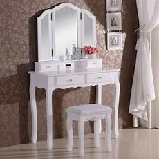 schminktisch mit spiegel und hocker schminktisch mit spiegel und hocker mb6027cm woltu eu
