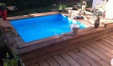 mini piscine enterrée mini piscine en bois 3 vercors piscine