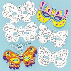 Malvorlagen Schmetterling Jung Masken Zum Basteln Und Ausmalen Schmetterling F 252 R