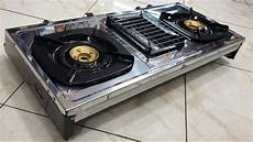 jual rinnai ri514e kompor gas 3 tungku silver di lapak sumber baru elektronik sumberbaru