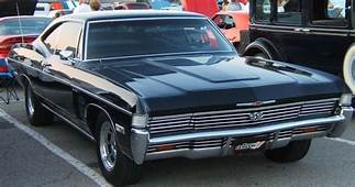 1968 Impala SS427 With Headlight Covers  Chevrolet