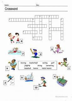 sports worksheets esl 15725 sports crossword worksheet free esl printable worksheets made by teachers