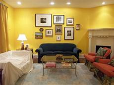 yellow living room benjamin s 343 sunrays and a new art wall bossy color elliott