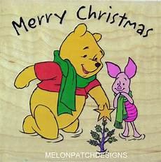 pooh piglet wish you a quot merry christmas quot pooh merry christmas merry