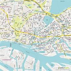 Malvorlagen Zum Drucken Hamburg Stadtplan Hamburg Vektor Illustrator Pdf