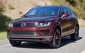 2017 Volkswagen Touareg Wolfsburg Edition US