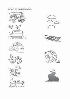transportation worksheets preschool 15223 preschool kindergarten worksheet means of transportation by ms d classroom