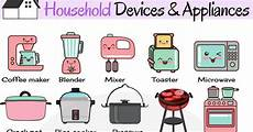 Kitchen Electronics List by Household Appliances Useful Home Appliances List With