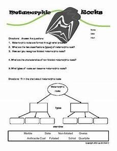 science worksheets rocks 12368 6th grade metamorphic rock worksheet by allen tpt