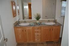 Oak Cabinet Bathroom Ideas by Pleasant Valley Homes Standard Baths