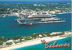nassau harbour bahamas a journey of postcards