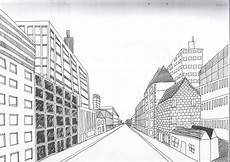 Cityscape Using One Point Perspective A Therapeutic