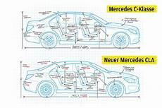 Sitzhöhe Auto Vergleich - vergleich mercedes gegen c klasse bilder autobild de