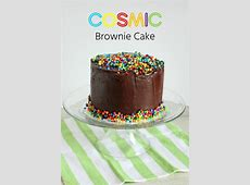 Cosmic Brownie Cake   i am baker