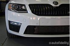 skoda park pilot front and rear parking sensor system with