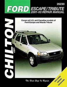 electric and cars manual 2003 mazda tribute parking system ford escape mazda tribute 2001 2003 chilton owners service repair manual 1620920808