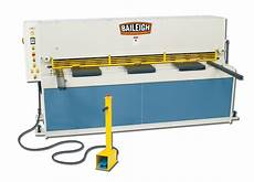 hydraulic sheet metal cutter with heavy duty metal shear baileigh industrial
