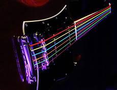 Dr Hi Def Neon Multi Color K3 Coated Electric Guitar Strings