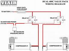 wiring diagram for viair compressor viair dual 480c air compressor kit 480 pewter