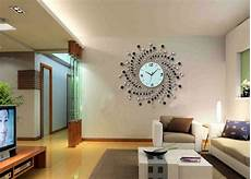 35 beautiful living room wall decor with clocks ideas