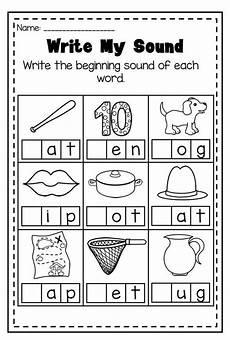 phonics worksheet bundle pre k kindergarten kids