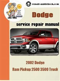 free service manuals online 2002 dodge ram 2500 security system 2002 dodge ram pickup 1500 truck workshop service repair pdf manual