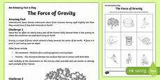 the of gravity worksheet