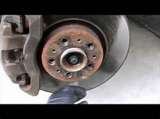 2004 volvo xc90 front brake pad and rotor replacement