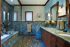 21 blue tile bathroom designs decorating ideas design