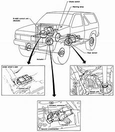 repair anti lock braking 1996 nissan pathfinder electronic toll collection repair guides