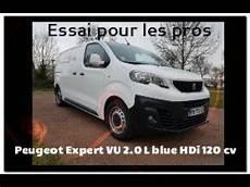 Peugeot Expert Vu 2 0 L Blue Hdi 120 Cv Essai Complet 2018