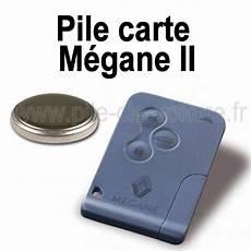 Pile Pour Carte Megane 2 Renault Changement De La Pile