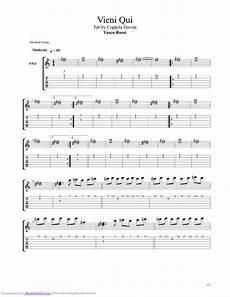 vasco senza parole accordi vieni qui guitar pro tab by vasco musicnoteslib