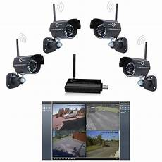 wireless outdoor security 2 4g wireless 4 ch outdoor dvr security system
