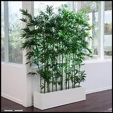 indoor artificial bamboo deco planter bambou plantes