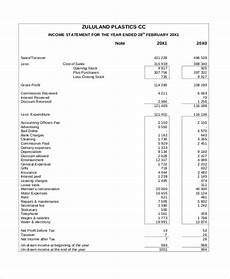 free 10 sle income statement forms in pdf ms excel