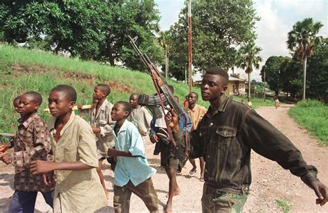 Democratic Republic Of Congo Child Soldiers