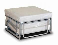 letto ripiegabile pouf letto da seduta apribile con materasso singolo
