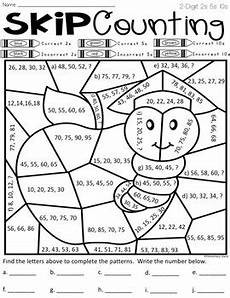 skip counting coloring worksheets 11891 skip counting worksheets color by code differentiated by elementary island