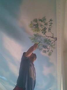 Cara Membuat Gambar Lukisan Awan Untuk Di Plafon