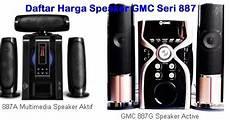 speaker aktif gmc murah berkualitas terbaik untuk pc