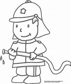 feuerwehrmann comic gratis ausmalbild