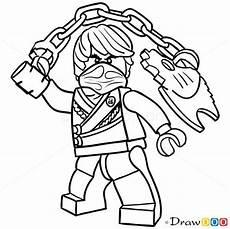 Coole Ausmalbilder Ninjago How To Draw Cole Lego Ninjago Gyerek Lego Coloring