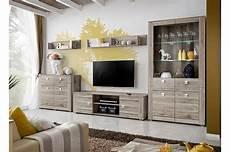 salon complet moderne bois gris 233 san remo novomeuble