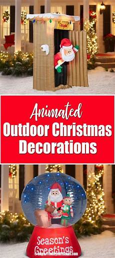 Animated Decorations Outdoor by Animated Outdoor Decorations Comfy