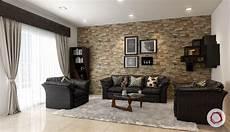 wandverkleidung stein wohnzimmer 11 stone wall cladding ideas for indian homes