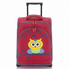 travelite youngster kindertrolley eule 43 cm 2 rollen mit